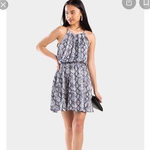 Mylah Snakeskin Flawless Dress